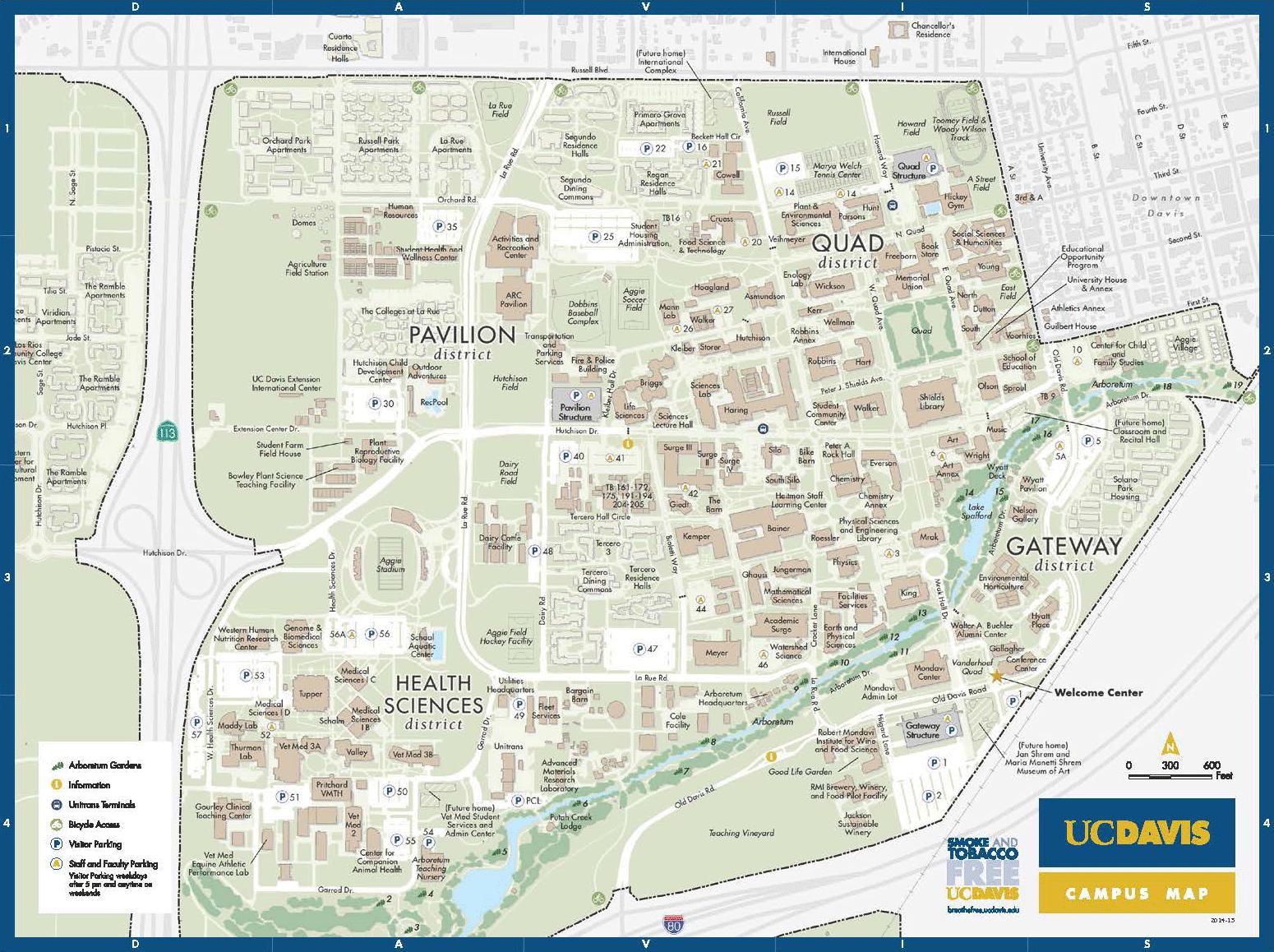 Map Uc Davis