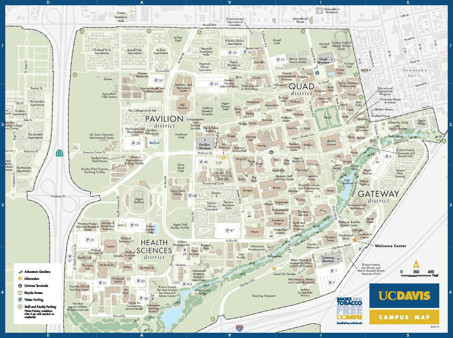 Visitors | Accessibility at UC Davis Uc Davis Campus Map